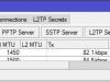 Mikrotik Настройка VPN PPtP