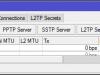 Mikrotik Настройка VPN L2tP